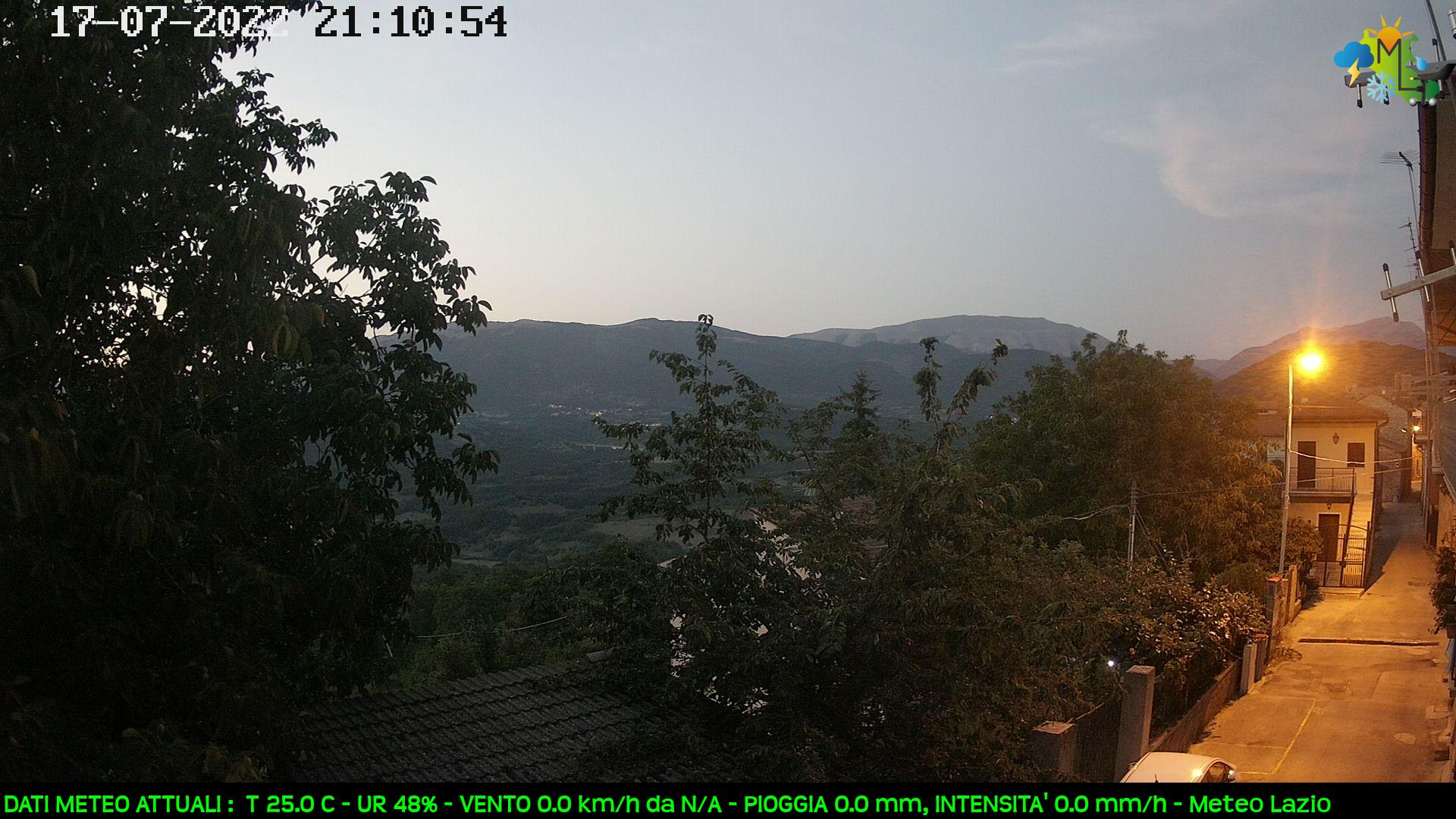 Webcam di Nesce (RI)